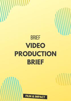 Video production brief - Creativ Sün Films